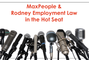 Live Webinar: MaxPeople & Rodney Employment Law in the Hot Seat