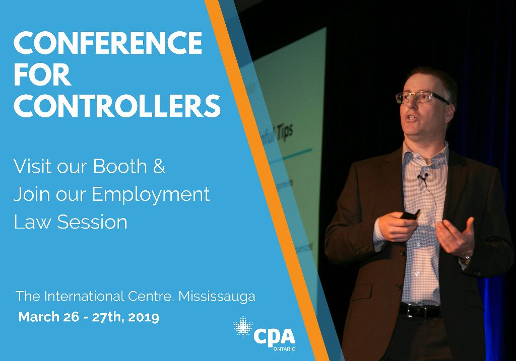 CPA Ontario's Conference for Controllers 2019