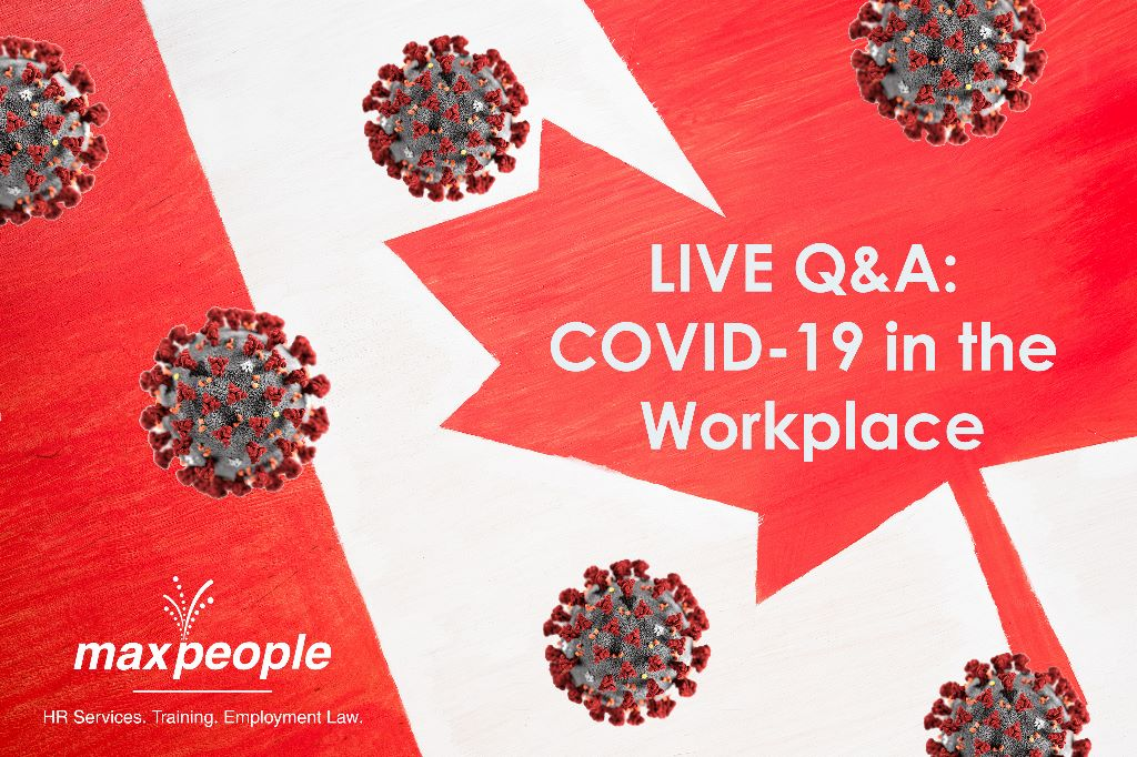 LIVE Q&A: COVID-19 on the Workplace