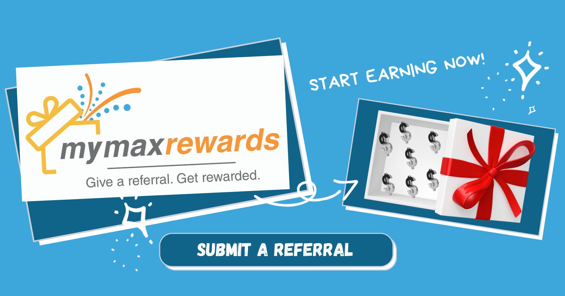 MyMaxRewards Referral Program
