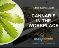 MaxPeople - Cannabis in the Workplace Employer Guide-Cover Art