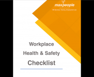 MaxPeople Workplace Health & Safety Checklist Thumb